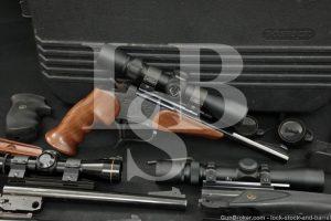 Thompson Center Arms TC Contender Kit w/ Five Barrels Three Optics MFD 1990