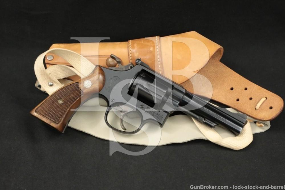 """U.S.A.F. Smith & Wesson S&W Model 15-2 .38 Spl 4"""" DA/SA Revolver 1967 C&R"""
