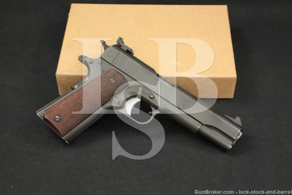 USGI National Match NM Remington Rand/Ithaca 1911A1 1911-A1 Pistol 1943 C&R
