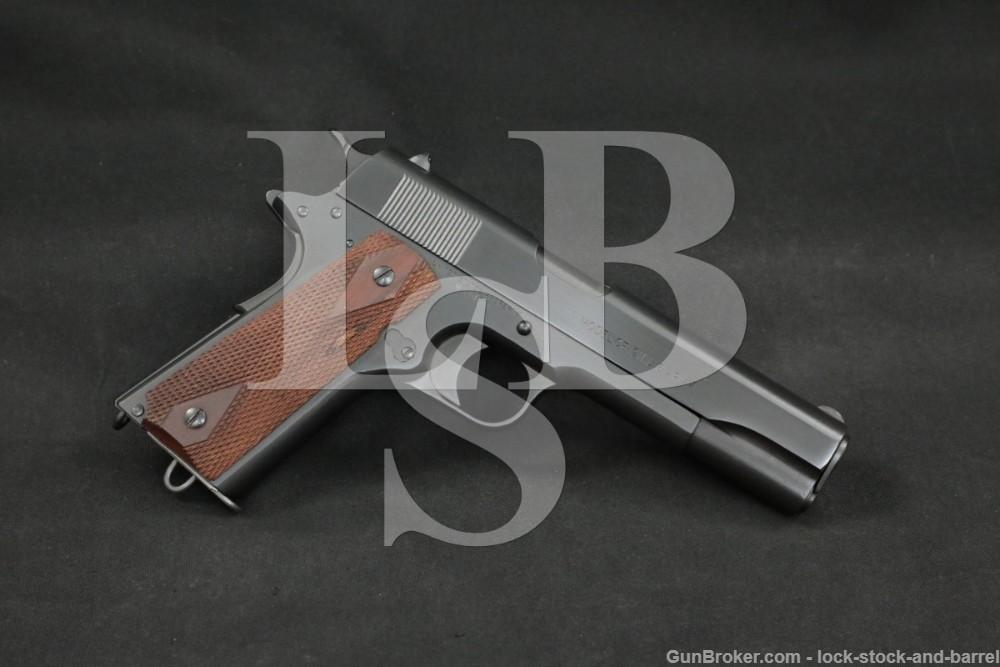 WWI US Colt Model of 1911 U.S. Army .45 ACP Semi-Automatic Pistol, 1918 C&R