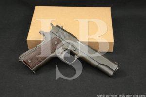 WWII Ithaca U.S. Model 1911-A1 M1911A1 .45 ACP Semi-Auto Pistol, 1943 C&R