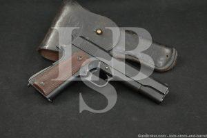 WWII US Remington Rand 1911A1 1911-A1 .45 ACP Semi-Auto Pistol, 1945 C&R