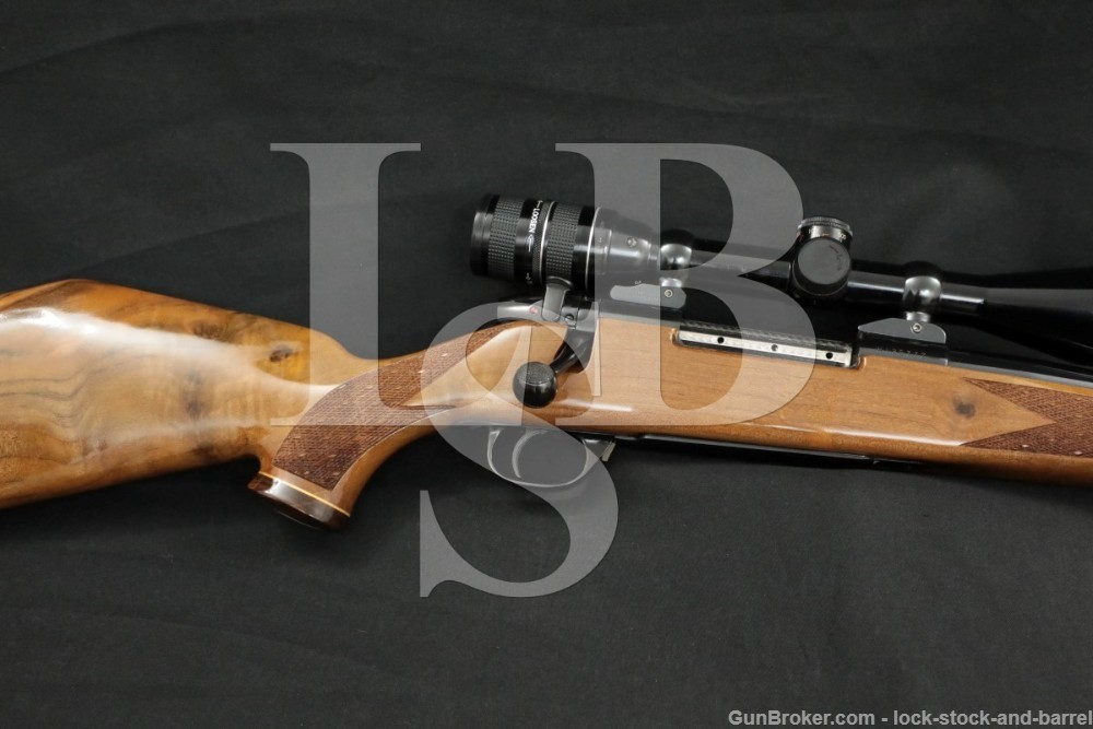 Weatherby Miroku Custom Shop Mark V .30-06 Scoped Bolt Rifle MFD 1972-1994