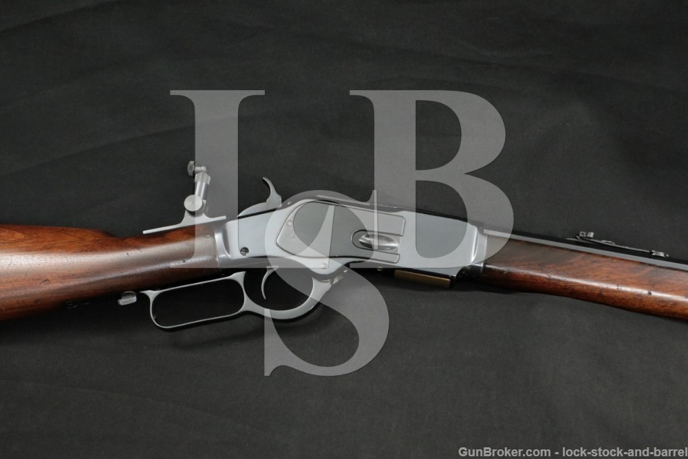 Winchester 1873 '73 3rd Model 28″ .38-40 WCF Lever Rifle, MFD 1893 Antique