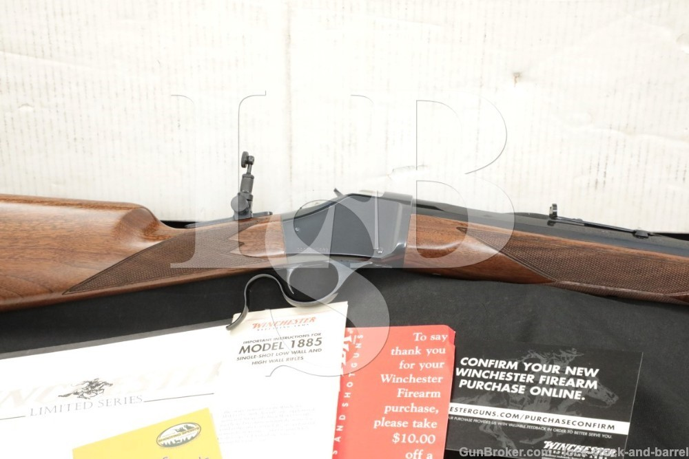 Winchester 1885 Limited Series High Wall Traditional Hunter .405 28″ Rifle