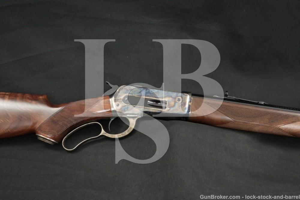 Winchester 1886 '86 Deluxe 24″ Octagonal .45-70 Gov't Lever Rifle, MFD 2015