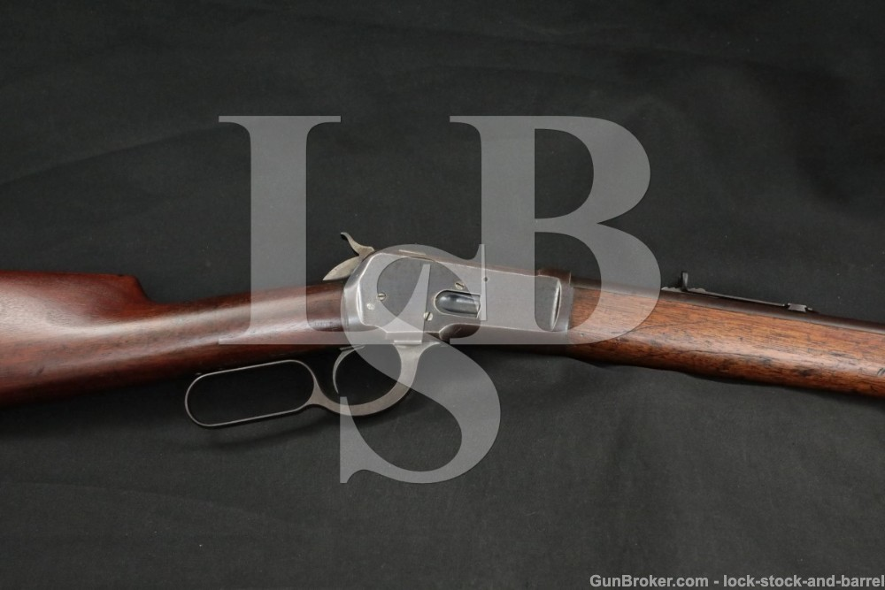 """Winchester 1892 92 24"""" Round .32-20 WCF Lever Action Rifle, 1894 Antique"""