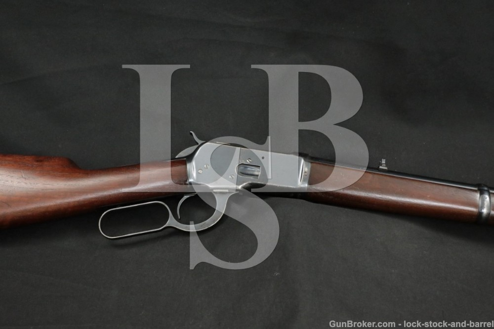 Winchester 1892 92 Saddle Ring Carbine SRC .25-20 WCF Lever Rifle, 1926 C&R