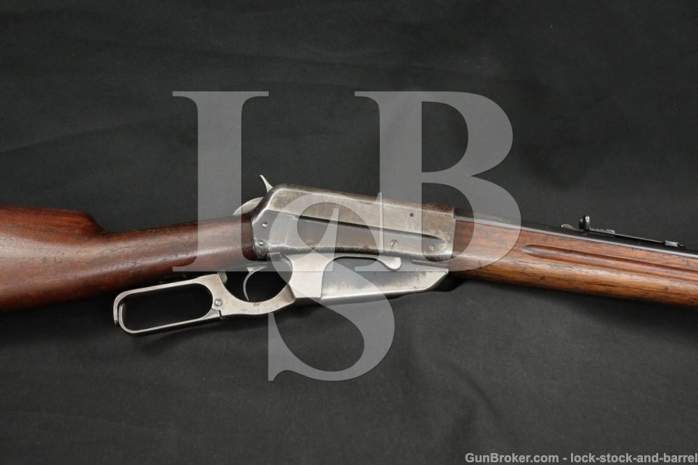 Winchester 1895 Saddle Ring Carbine SRC .30-06 Lever Action Rifle, 1925 C&R