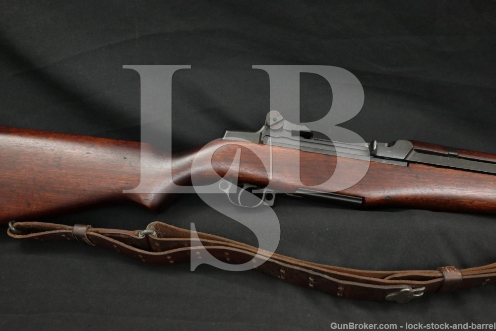 Winchester M1 Garand .30-06 Semi Automatic Rifle MFD 1942 C&R