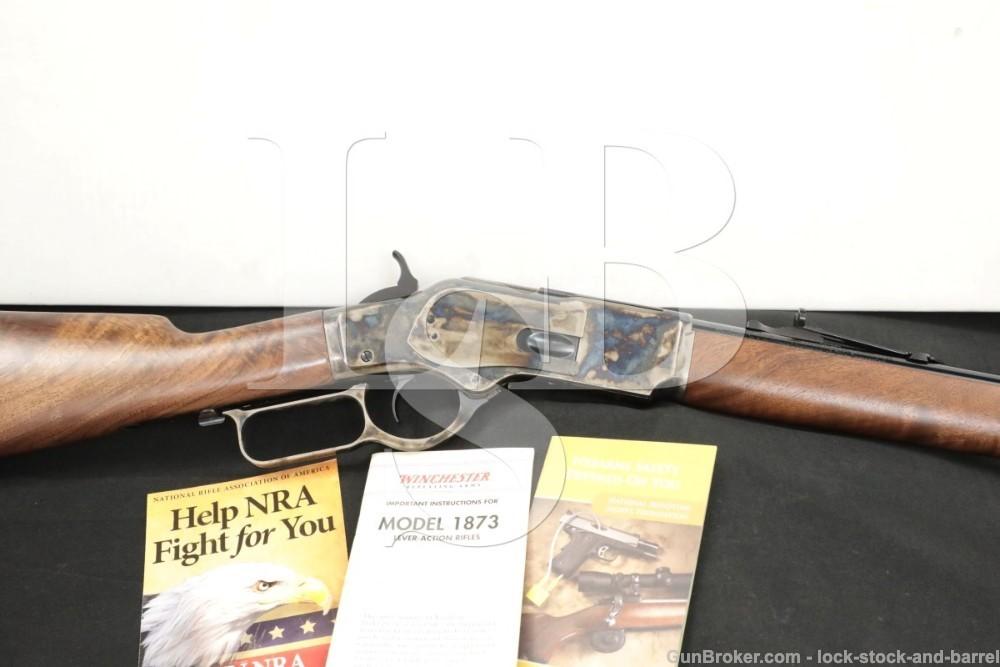 Winchester Miroku Model 1873 .357 Mag/.38 Spl Short Lever Rifle, MFD 2013