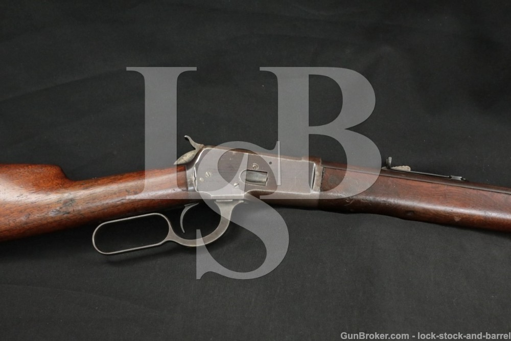 Winchester Model 1892 92 .38-40 WCF Lever Action Rifle, MFD 1894 Antique
