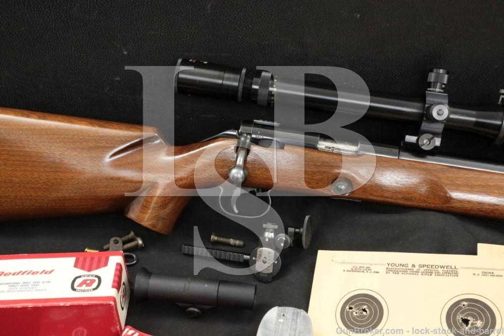 Winchester Model 52c 52-C Bull .22 LR Bolt Action Target Rifle, 1956 C&R
