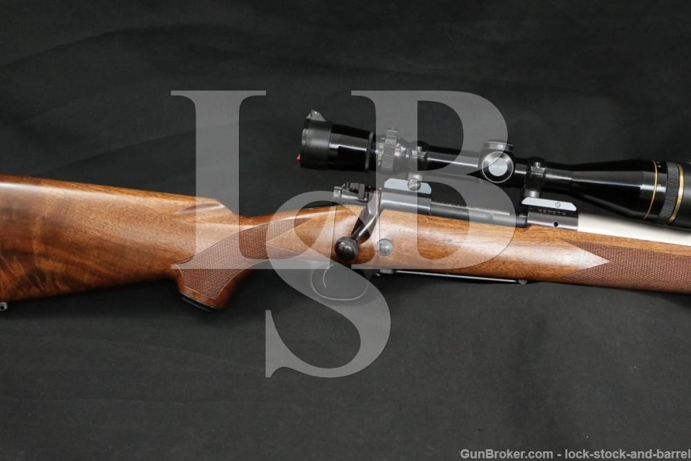 Winchester Model 70 Super Grade .338 Win. Custom Shilen Barrel Bolt Rifle