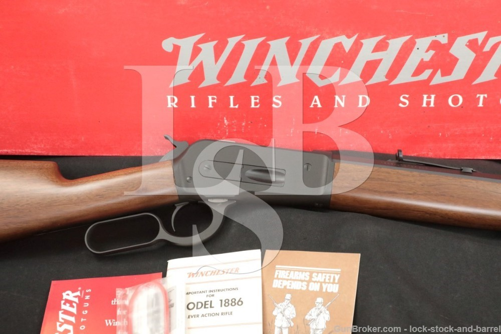 """235 of 500 Winchester Model 1886 Limited .45-70 Gov't 26"""" Lever Rifle 2001"""
