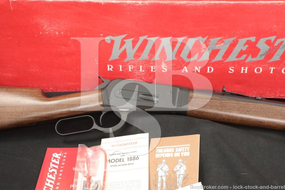 """373 of 500 Winchester 1886 Takedown Limited .45-70 Gov't 26"""" Lever Action"""