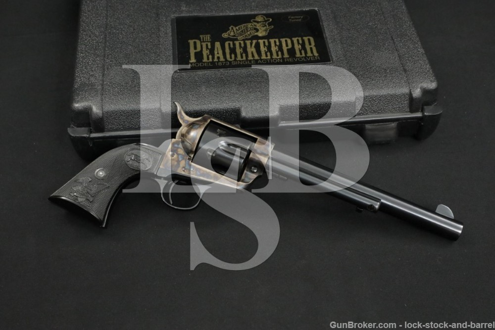 American Western Arms Model 1873 Peacekeeper .357 Single Action Revolver