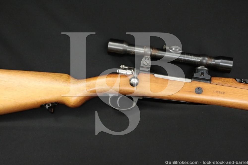 Argentine 1909 Mauser DWM German 7.65x53 Zeiss Scope Bolt Action Rifle C&R