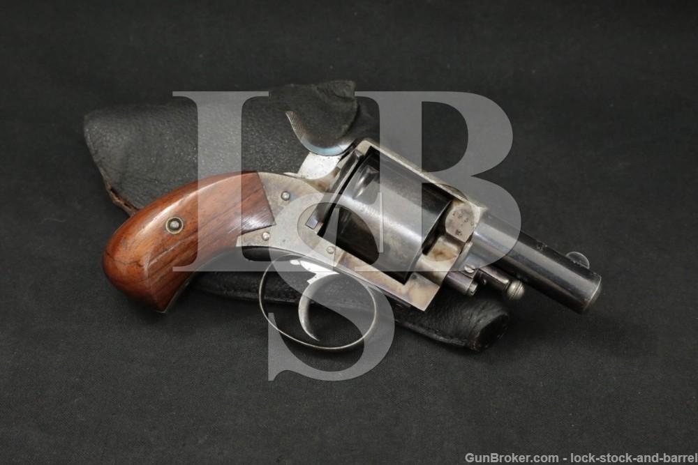 Belgium The British / Frontier Bulldog .380 CF Revolver & Holster C&R