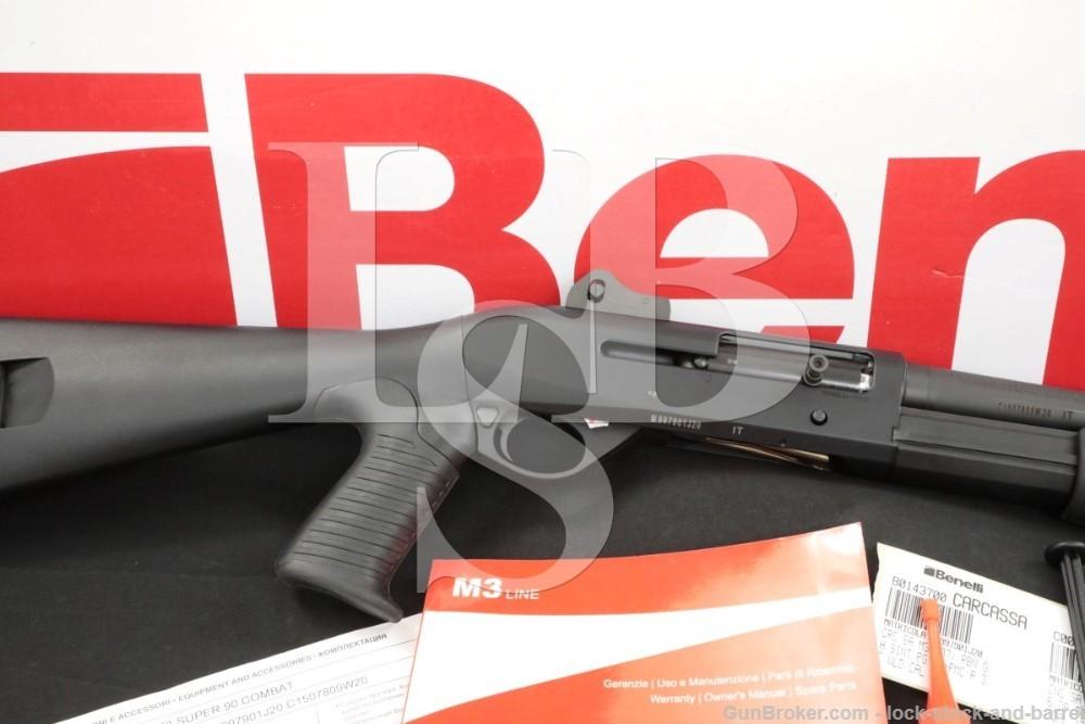 """Benelli M3 12 ga 3"""" Convertible Pump / Semi Auto Shotgun & Box MFD 2020"""
