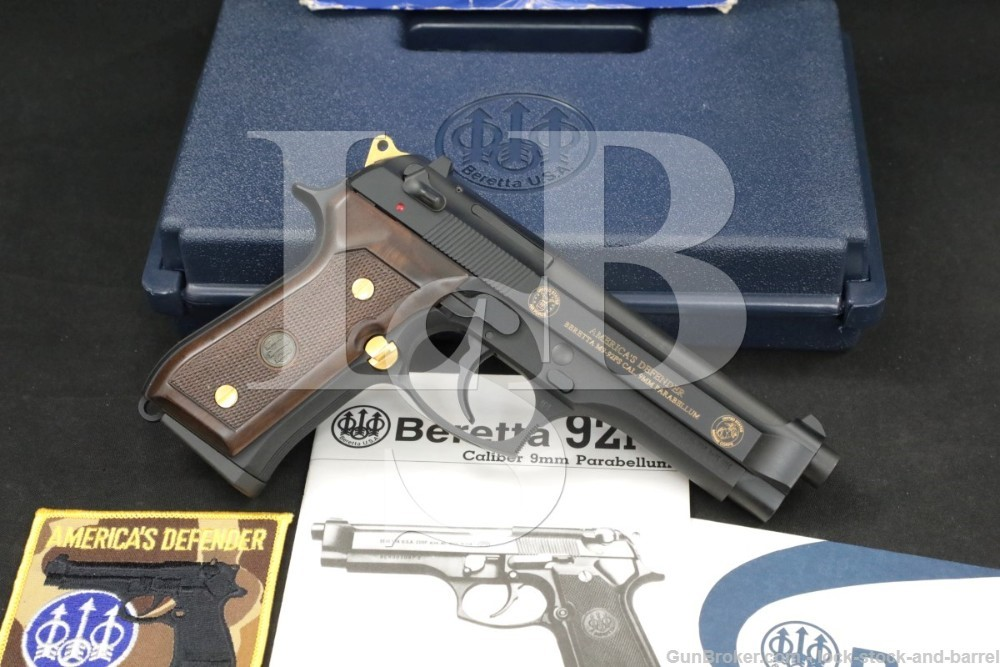 Beretta 92FS America's Defender Armed Forces 9mm SADA Semi-Auto Pistol 1996