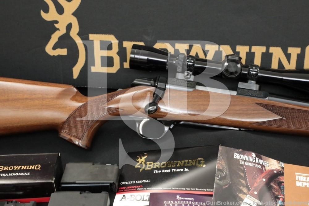 Browning Miroku A-Bolt Medallion .223 Remington Bolt Action Rifle, MFD 1994