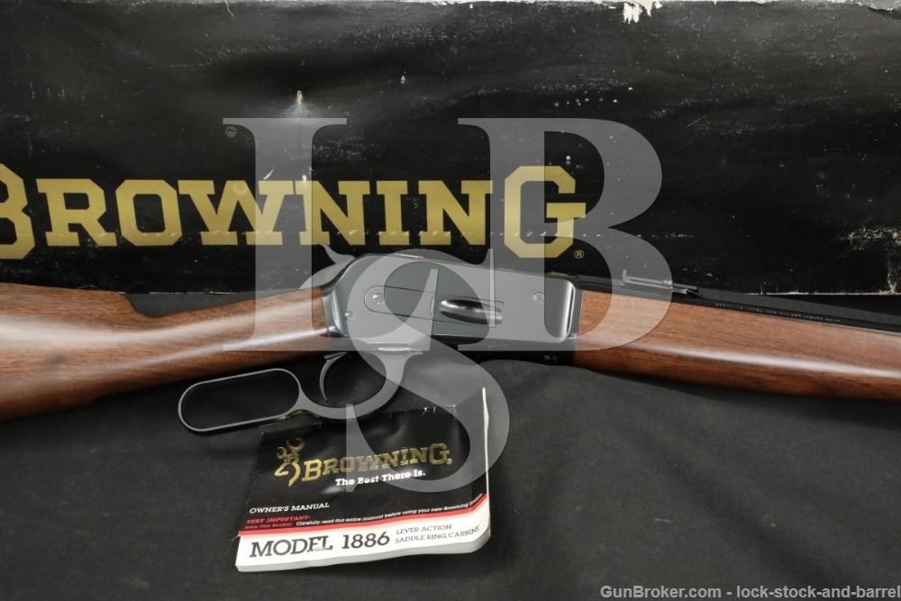 "Browning Miroku Model 1886 Grade 1 .45-70 Gov't 22"" Lever Action Rifle 1992"