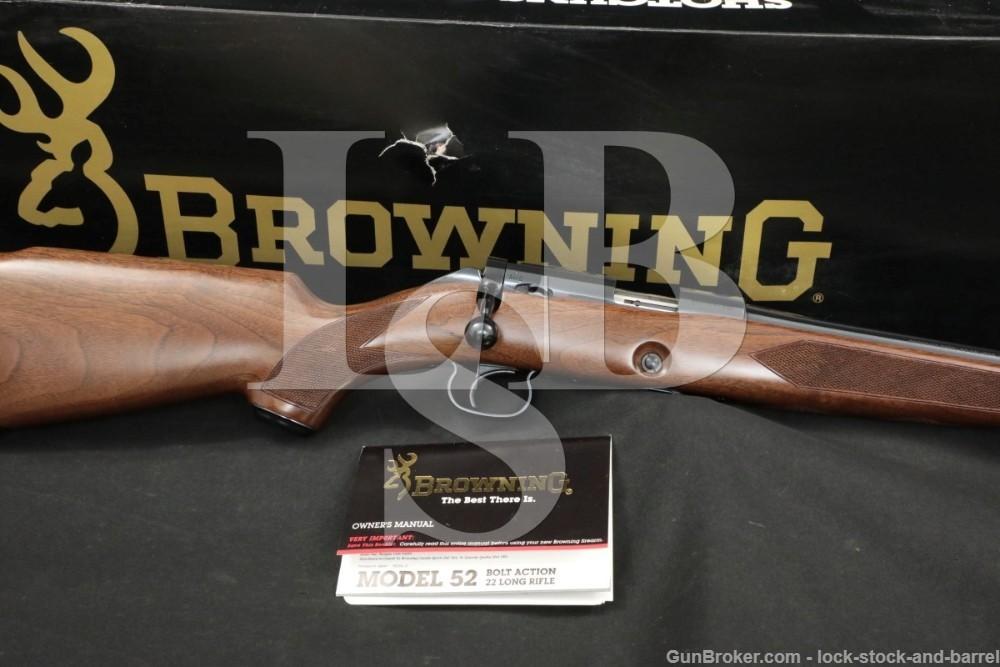 Browning Model 52 Sporter Limited Like Winchester .22 LR Bolt Rifle, 1991