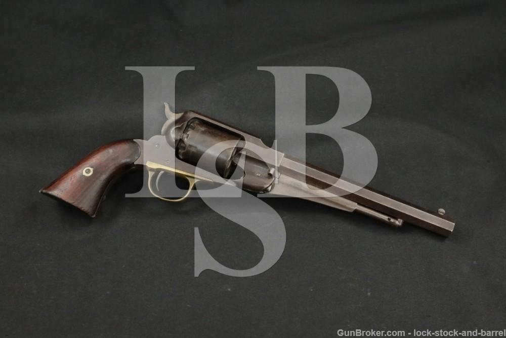 Civil War Remington 1858 New Model Army .44 Cal Revolver 1864-1865 Antique