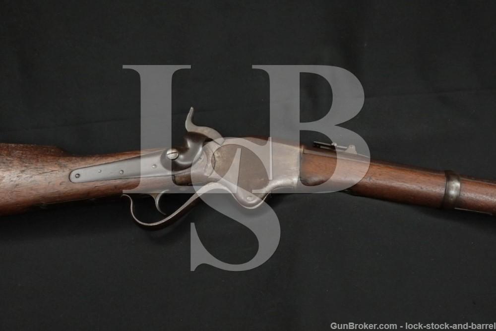 Civil War Spencer Model 1860 Carbine 56-56 Lever Rifle, 1863-1865 Antique