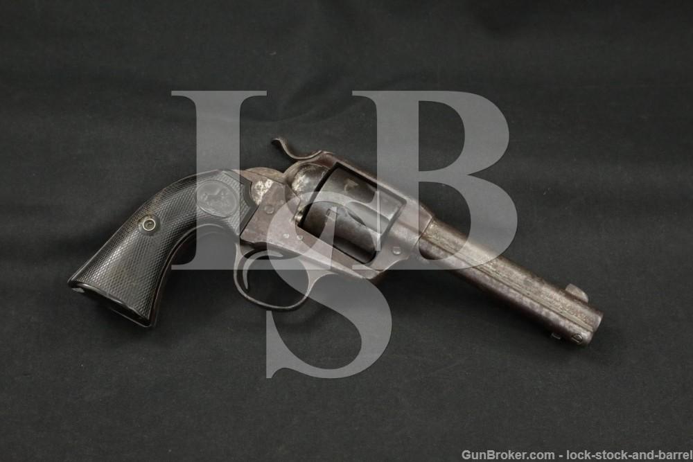 Colt Frontier Six Shooter Bisley SAA .44-40 Winchester Revolver, 1901 C&R