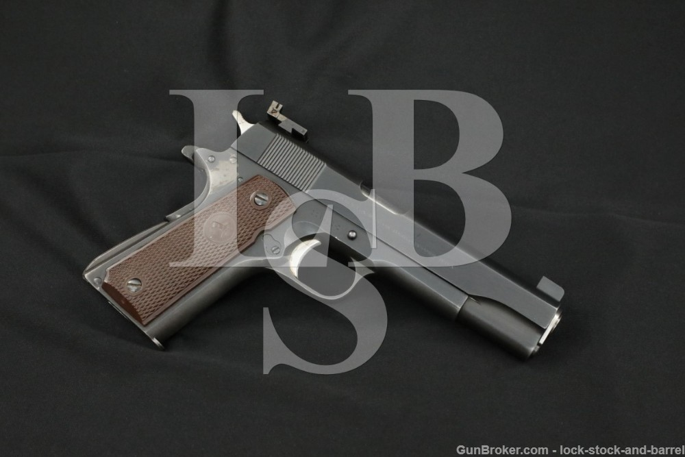 Colt Government Model 1911A1 .45 ACP Semi-Auto Pistol, MFD 1967 C&R