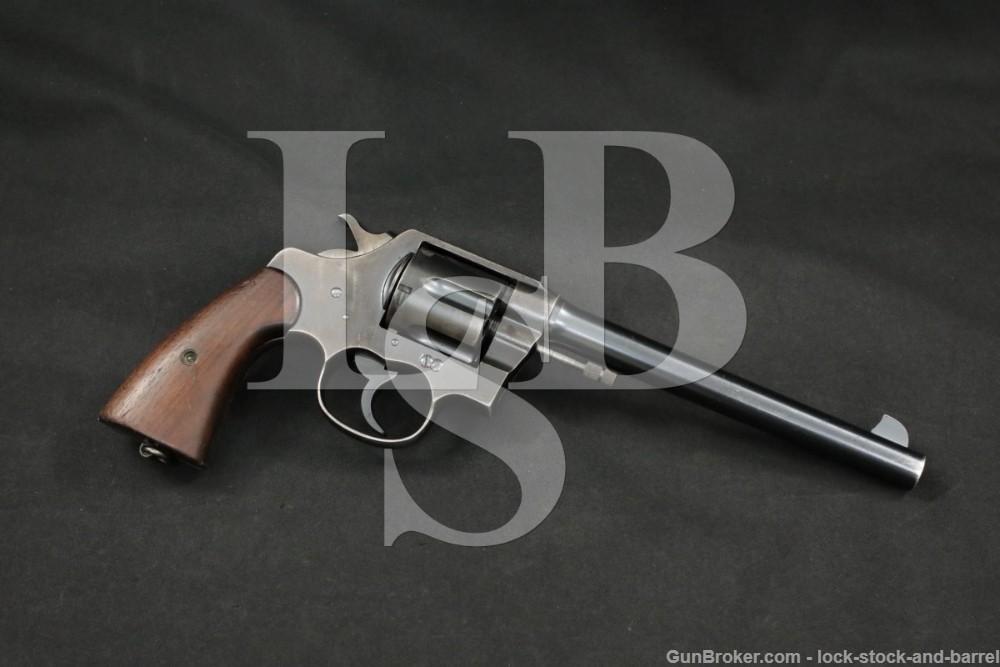 "Colt New Service Model 7 1/2"" .45 LC Double Action Revolver, MFD 1920 C&R"