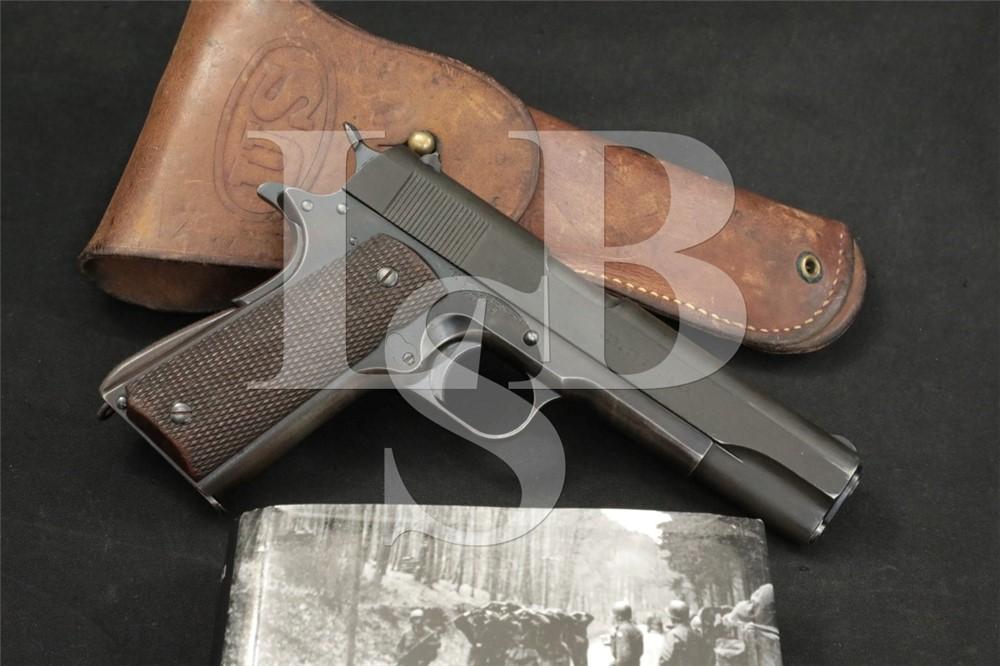 Colt 1911/1911A1 Transitional .45 ACP Semi-Automatic Pistol, MFD 1924 C&R