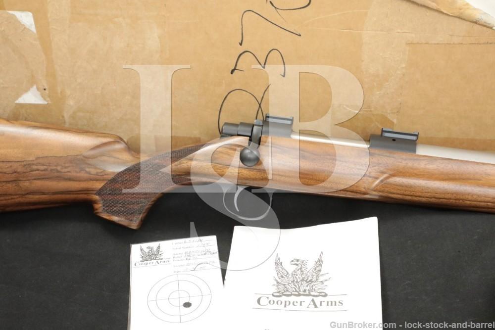 "Cooper Firearms Montana Model 22 Varminter 6.5x284 Norma 26"" Rifle 2005"