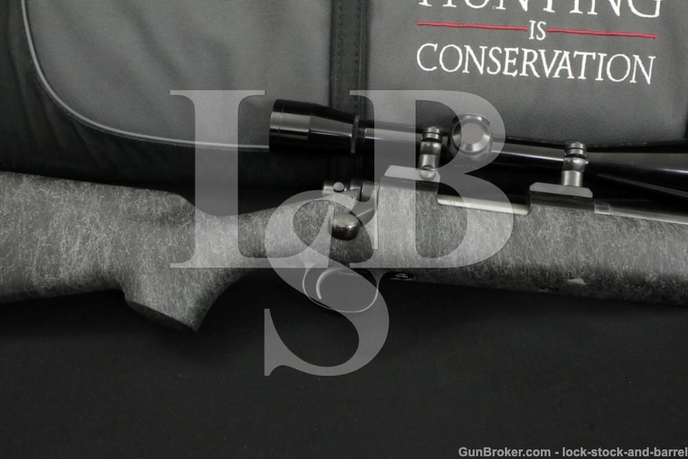 Custom Remington Model 40-X 40X .22-250 Single Shot Bolt Action Rifle