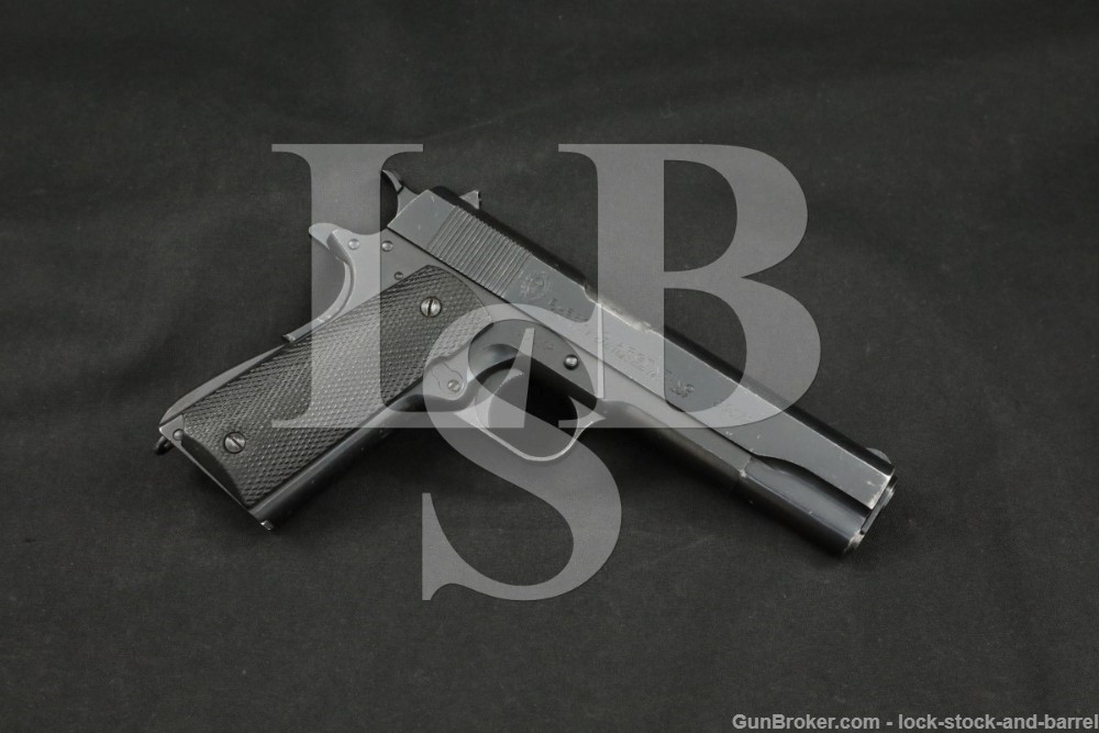 DGFM-FMAP Argentine 1911 Sistema Colt 1927 #s Match 45 ACP Pistol, 1948 C&R