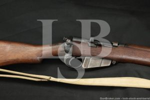 Enfield No.1 MkIII SMLE Volley Sights .303 British Bolt Action Rifle C&R