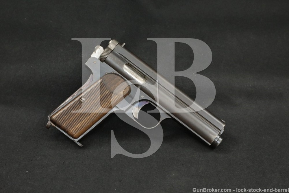 F.E.G. Hungarian Frommer Stop 9mm/.380 ACP Semi-Automatic Pistol, 1916 C&R