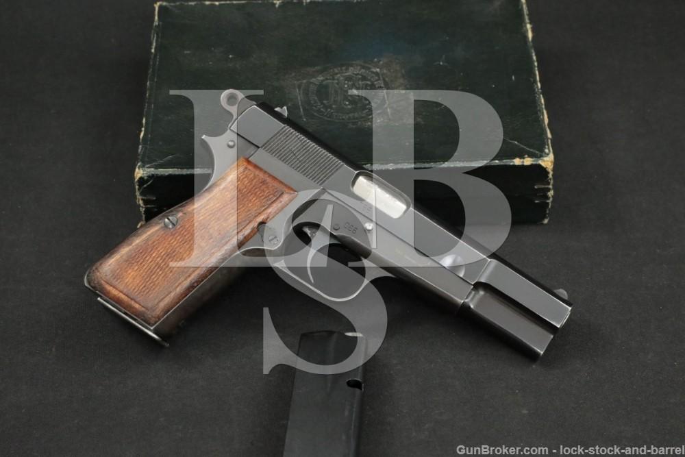 FN Browning Hi-Power Austrian State Gendarmerie 9mm Semi-Auto Pistol, C&R
