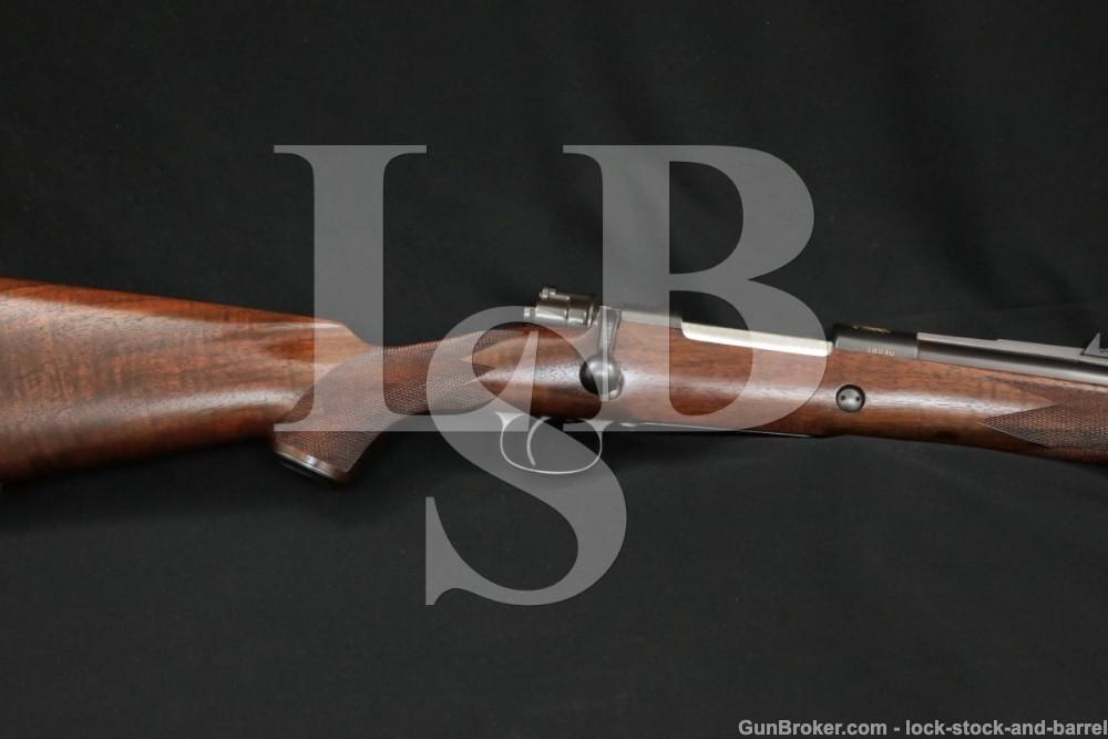 FN Mauser Custom Safari Rifle Express Sights .458 Win Mag Bolt Action C&R