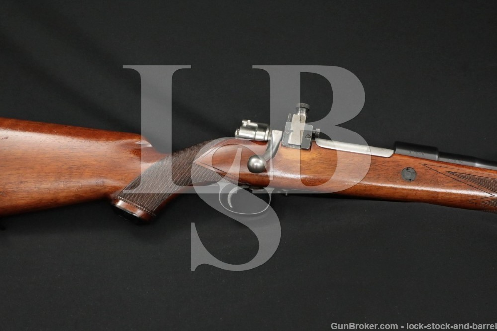 Fabrique Nationale FN Deluxe Mauser .30-06 Matching Bolt Action Rifle C&R