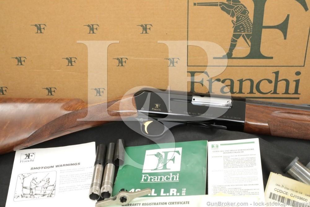 """Franchi AL48 AL-48 Deluxe 20 ga 26"""" Semi Automatic Shotgun, Chokes & Box"""
