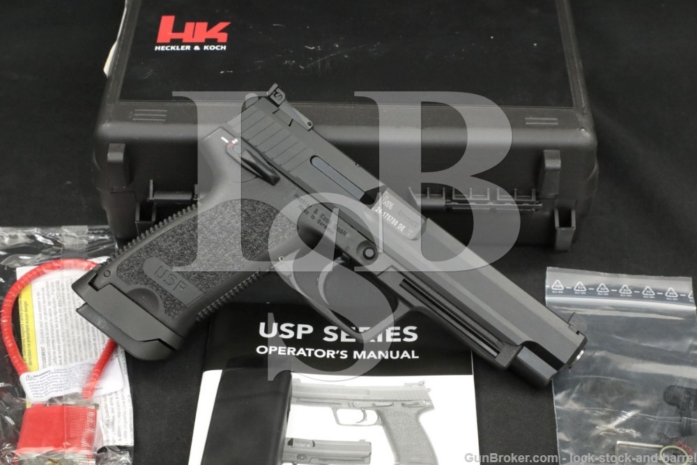 Heckler & Koch HK H&K USP Expert 9mmx19 Semi-Automatic Pistol, 2020