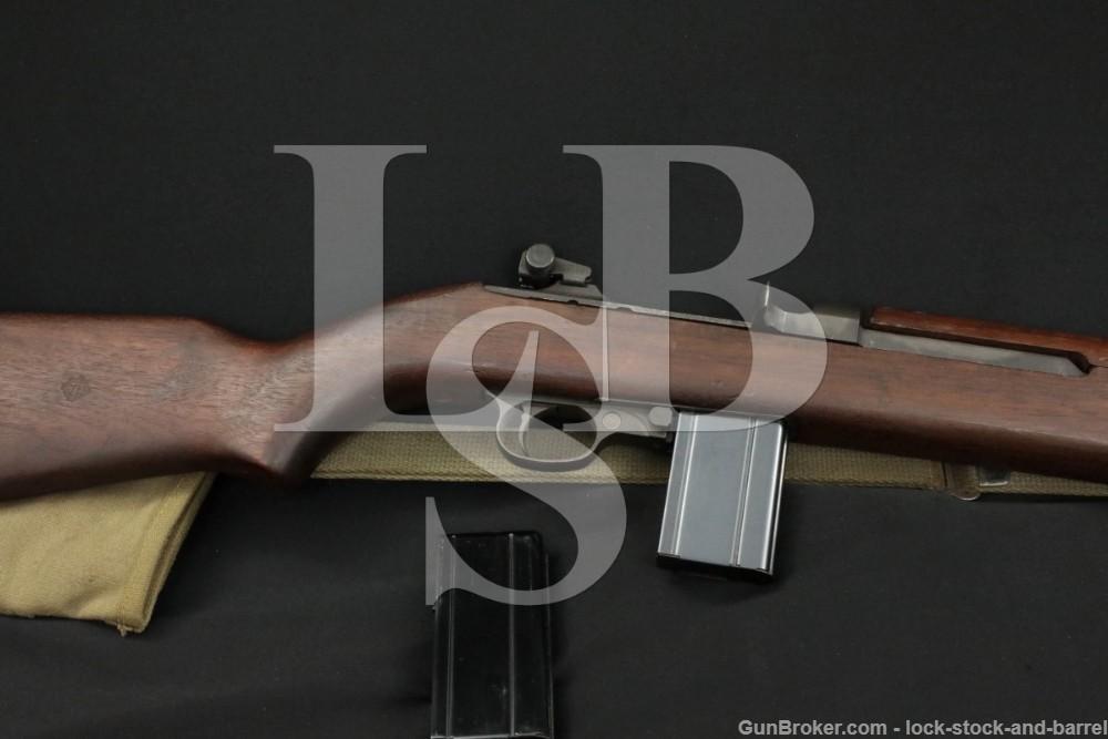 Inland Division M1 Carbine SG Receiver .30 Semi Automatic Rifle C&R