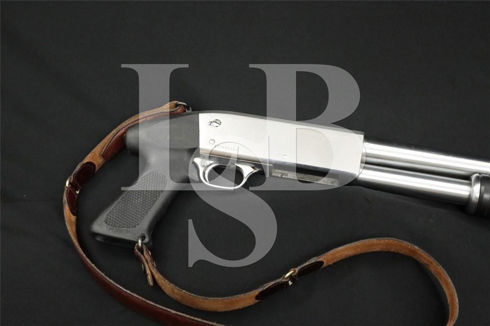 "Ithaca Model 37 Featherlight 12 Ga 20"" Chrome Pistol Hand Grip M&P Shotgun"