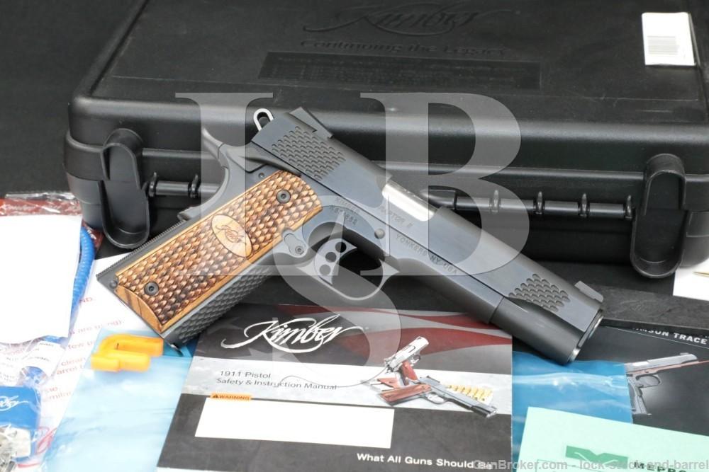 "Kimber Model Raptor II 2 .45 ACP 5"" 1911 1911A1 1911-A1 Semi-Auto Pistol"