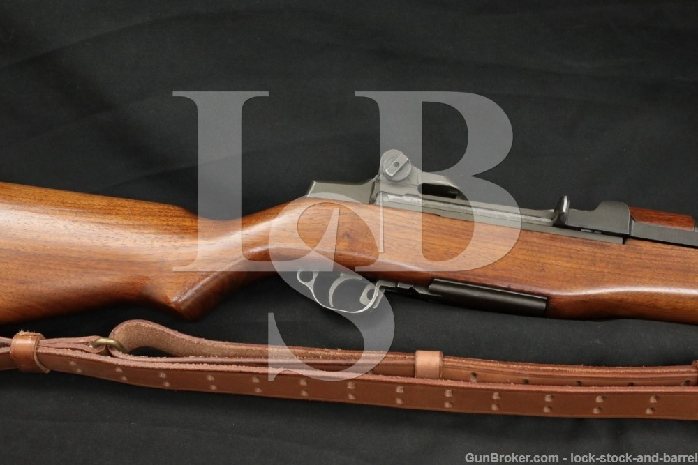 Lend-Lease Springfield M1 M-1 Garand .30-06 Semi-Automatic Rifle, 1942 C&R