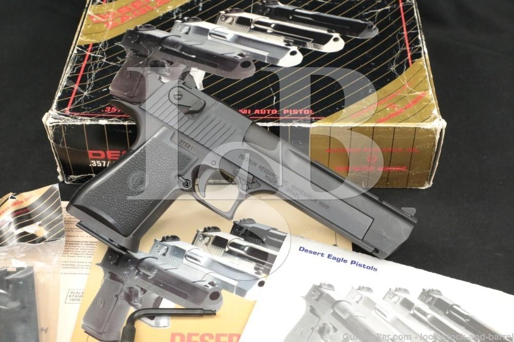 "Magnum Research IMI Model Desert Eagle MK XIX 19 .50 AE 6"" Pistol"