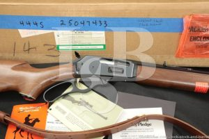 """Marlin Firearms Co. Model 444S .444 22"""" JM Marked Lever Action Rifle, 1975"""